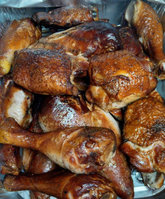 Hickory Smoked Chicken