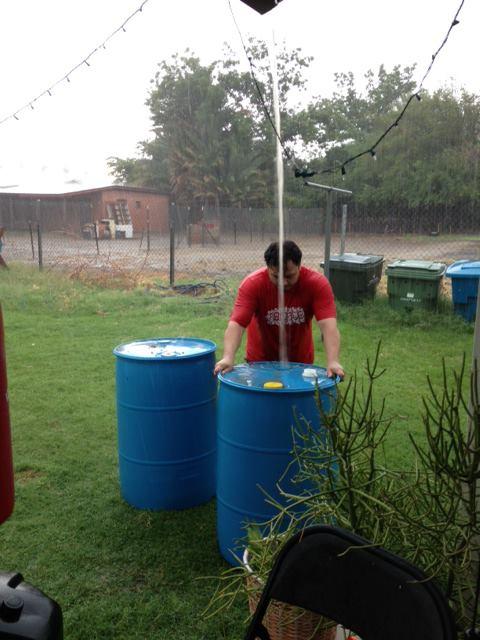 Manual Rainwater Collection